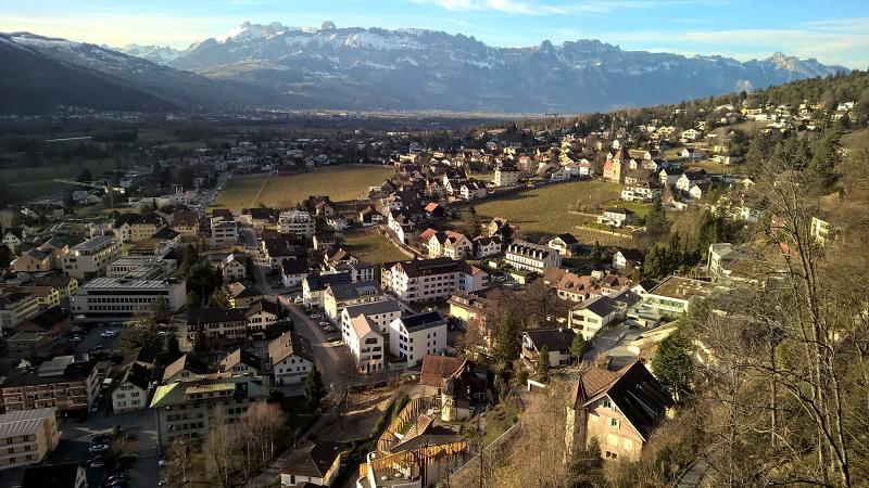 6.Место среди самых маленьких государств Лихтенштейн