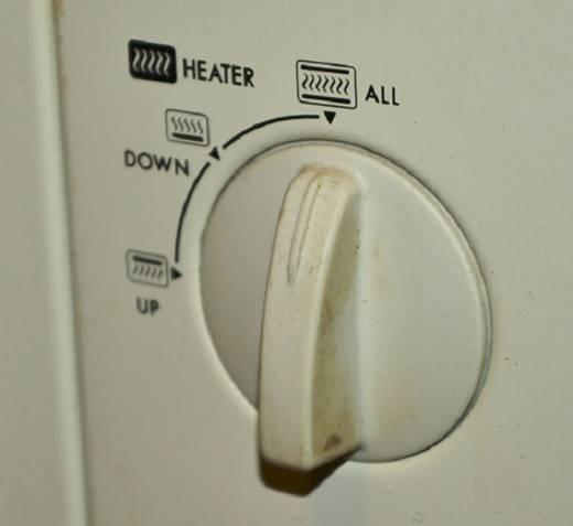 Переключатель нагрева elekta ebro 586 GS.