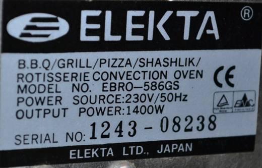 Задняя панель elekta ebro 586 GS.