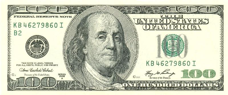 Как я нашел 100 долларов?