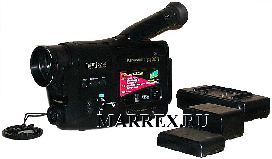 Фото видеокамеры Panasonic NV-RX1
