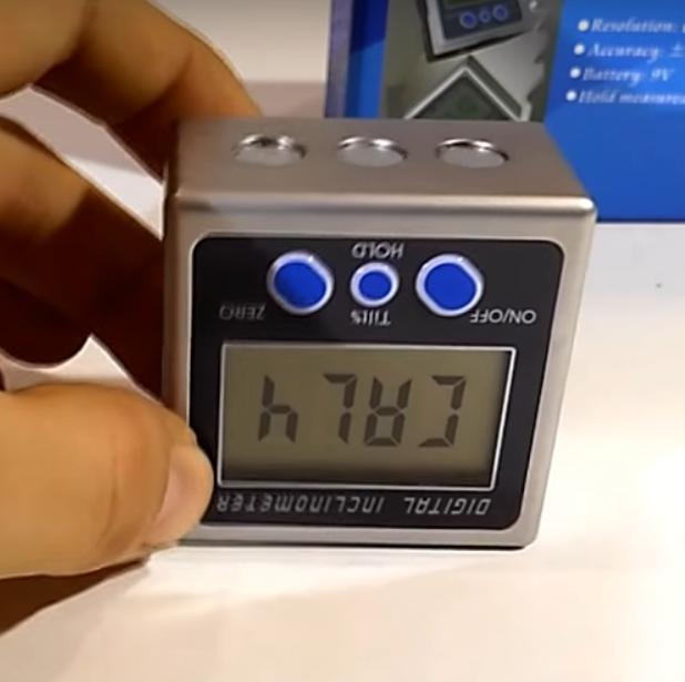 Инструкция  к угломеру электронному