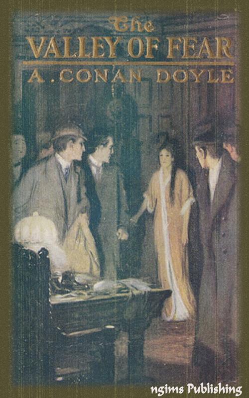 Предполагаемая обложка первого издания Долина страха - Артур Конан Дойл: