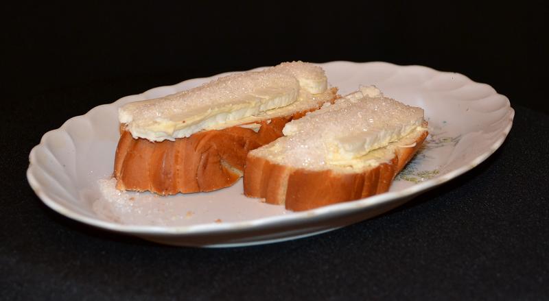 Бутерброд с сыром.