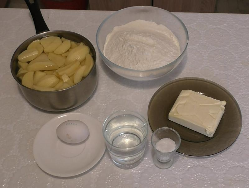 Рецепт 'кыстыбый с картошкой'