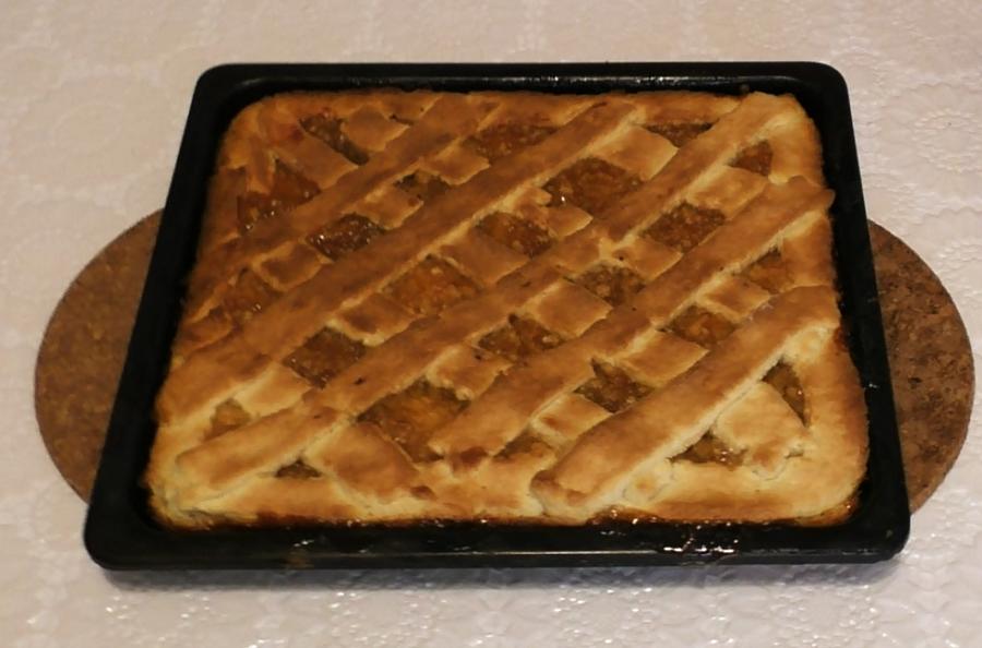 Рецепт пирога с повидлом.