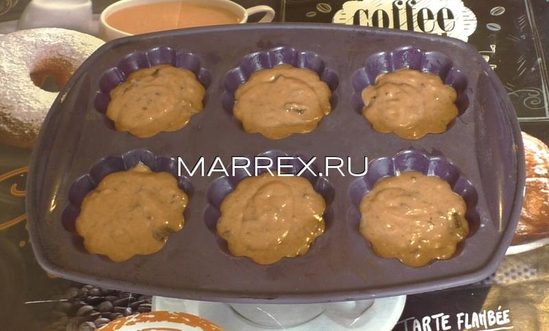 Рецепт шоколадных кексов с шоколадной крошкой.