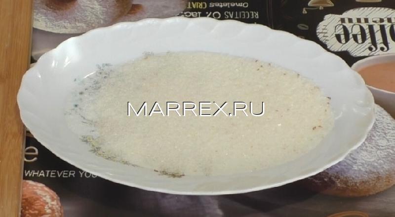 Ингредиенты для сухарей с сахаром
