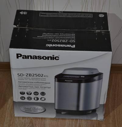 Описание, комплектация хлебопечки Panasonic  SD-ZB2502