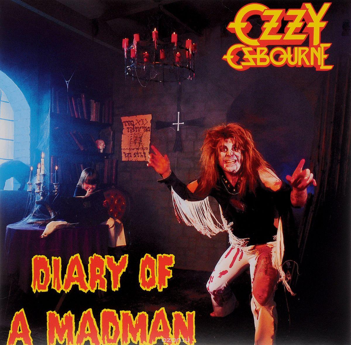 Оригинальная обложка Ozzy Osbourne - Diary Of A Madman.