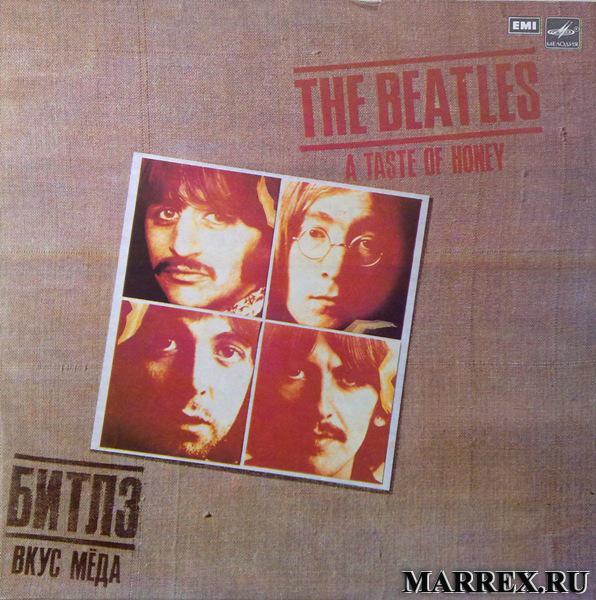 Пластинка THE BEATLES.