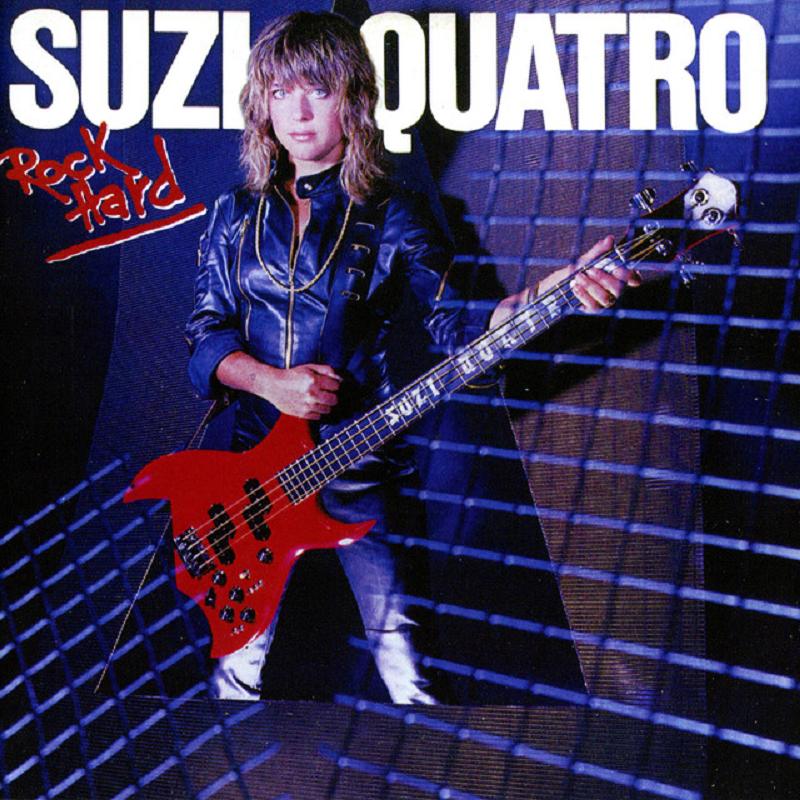 Оригинальная обложка 1980 года - Suzi Quatro передняя сторона.