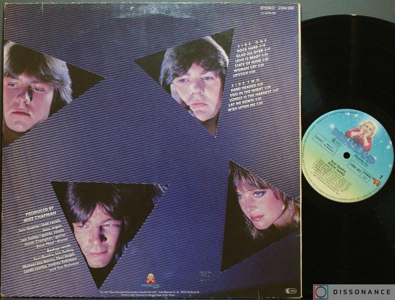 Оригинальная обложка 1980 года - Suzi Quatro обратная сторона.