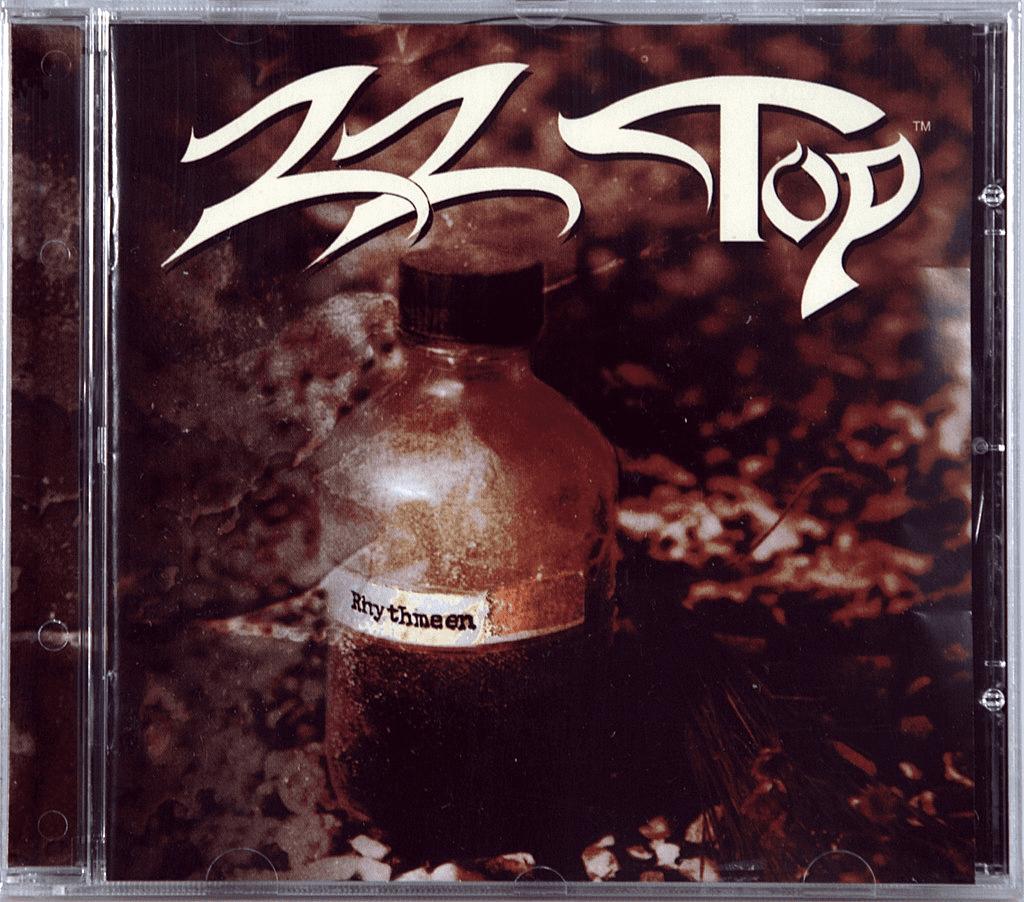 Передняя обложка CD ZZ Top 1996 - 'Rhythmeen'