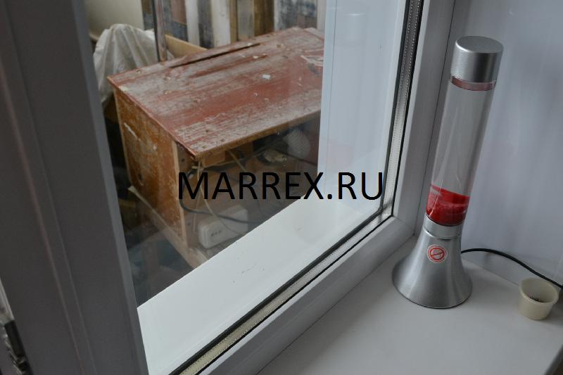 Окончательная отделка откосов окна.