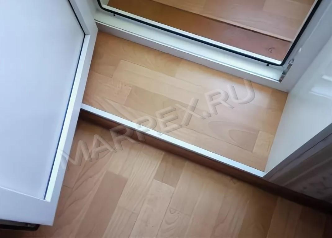 Как сделать порог на балкон?