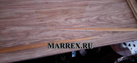 Ремонт деревянной накладки.