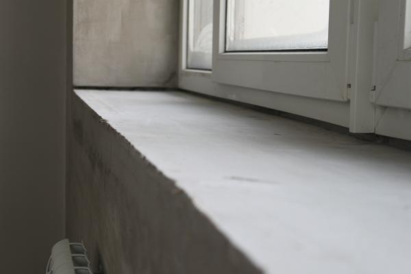 Ширина подоконника в панельном доме