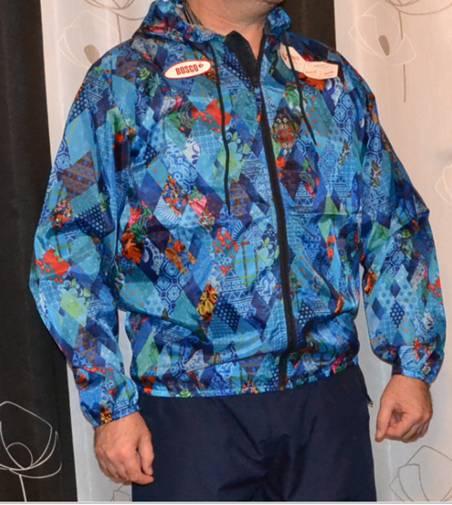 Куртка волонтера эстафеты олимпийского огня.