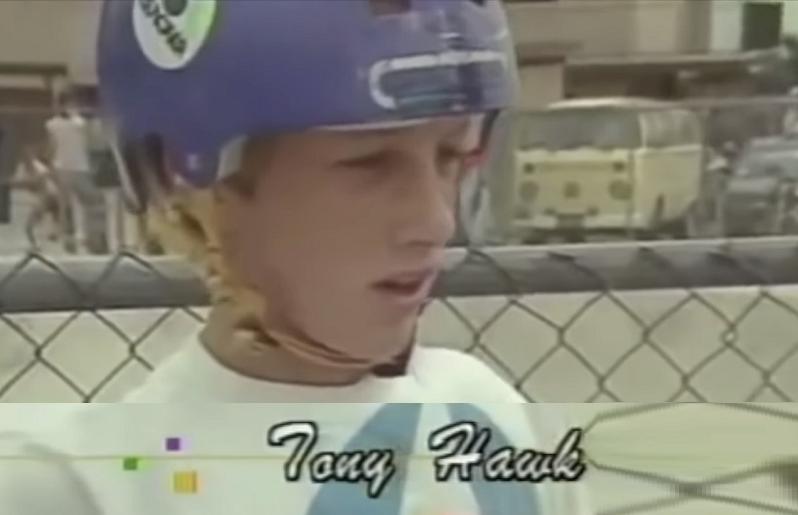Скейтер Тони Хоук